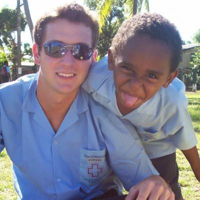 Kieran T in Fiji